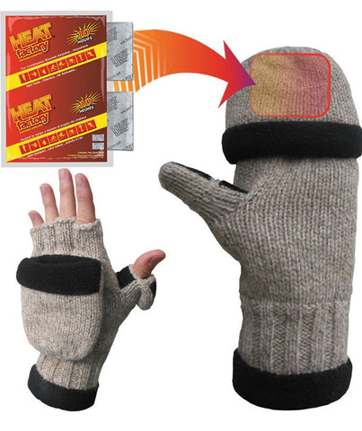 Heated Ragg Wool Glove