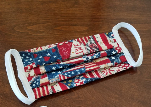Patriotic Washable Face Mask