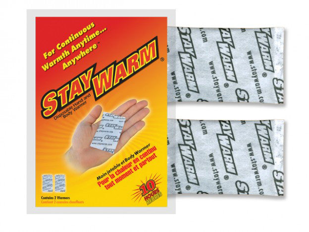 Stay Warm Hand  Warmers (10hr)
