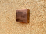 Copper Square / Light Sconce
