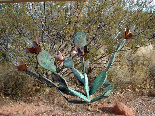 Copper Cactus Chandelier / Made to Order
