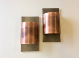 Contemporary Copper + Steel- Half Round