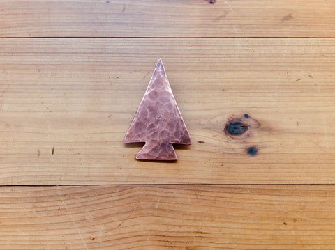 Copper Arrowhead / Bottle Opener