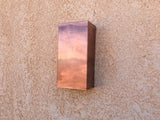 Copper Light Sconce / Rectangle