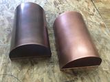 "Light Sconce / Copper / 8"" x 12"" x 5""/ Round"