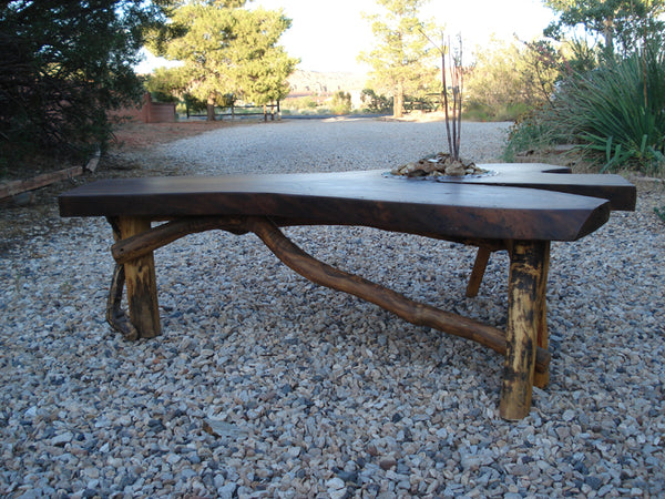 Table / Black Walnut / Water Feature / Coffee Table