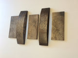 Steel Wall Art / Contemporary / Three+2