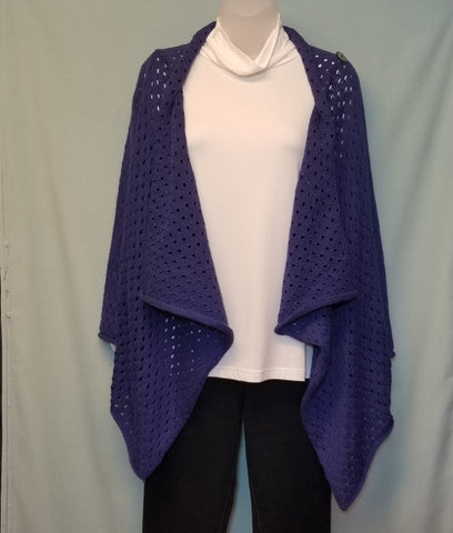 Pure Handknit Twist of Fate Cardigan