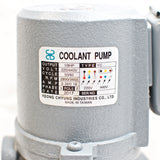 "1/8 HP Machinery Coolant Pump, 220V/440V, 3PH, Shaft Length 5"" (130mm) YC"