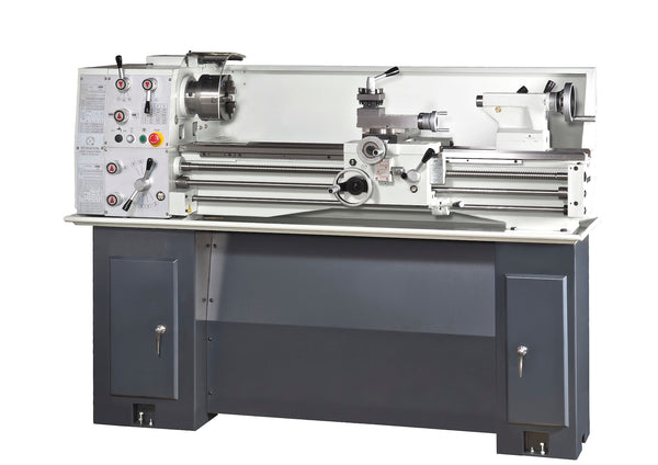 EISEN 1340GHE Precision Bench Lathe with DRO & Stand, 1.5HP single-phase 220V