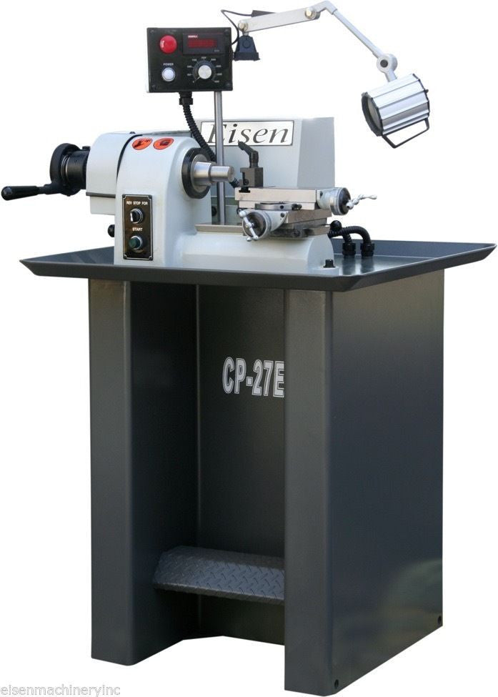 Eisen Cp 27evs Finishing Lathe With Compound Slide 1hp
