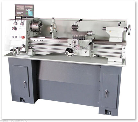 EISEN 1236GH Bench Lathe with DRO, TTA & Stand, 3-Phase 220V, Taiwan Made