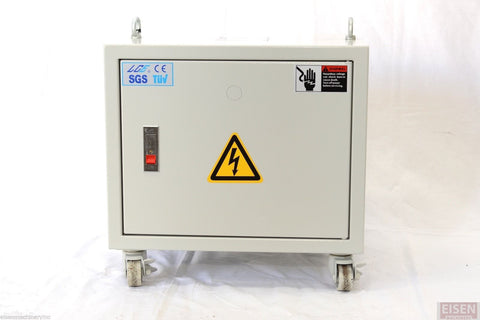 3-Phase 10KVA Enclosed Auto Transformer Pri: 440/460/480V Sec: 230V YG024