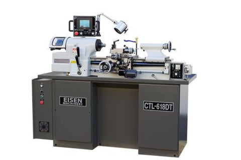 EISEN CTL-618DT Super High Precision Toolroom Lathe with Digital Threading