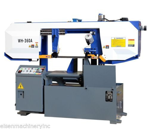 "Eisen WH-360A Heavy Duty Column Type Bandsaw 14"" Capacity, 5HP Motor, Semi-Auto"