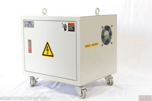 3-Phase 15KVA Enclosed Auto Transformer Pri: 208/240V Sec:480V