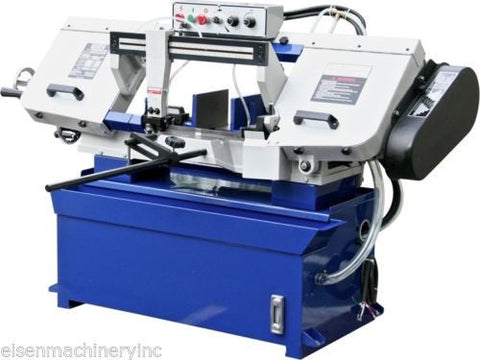 EISEN 916W Horizontal Bandsaw with 1.5HP, 220V, 3-phase, UL-listed motor