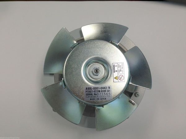 FANUC Spindle Motor Fan A90L-0001-0442#R (MINEBEA PT5921-0220W-B30R-S01)