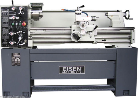"EISEN 1440E 14"" x 40"" Engine Lathe with DRO, Made in Taiwan, 220V 3PH"