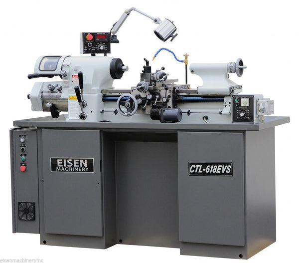 EISEN CTL-618EVS Super High Precision Toolroom Lathe (Hardinge HLV style)