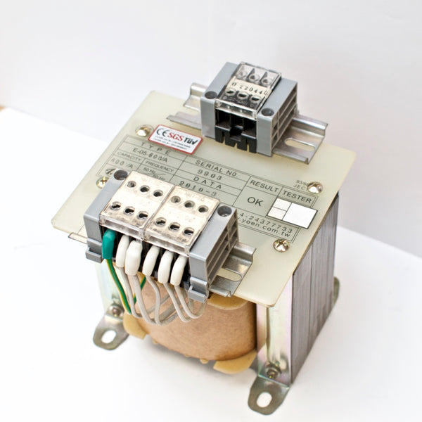 600VA Single-phase AC Control Transformer PRI: 220/440V SEC: 12/24/110V
