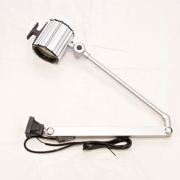 "A-L81A IP65 Waterproof 55W Halogen Work Light w/ 32"" Arm 12V Machine Worklight"