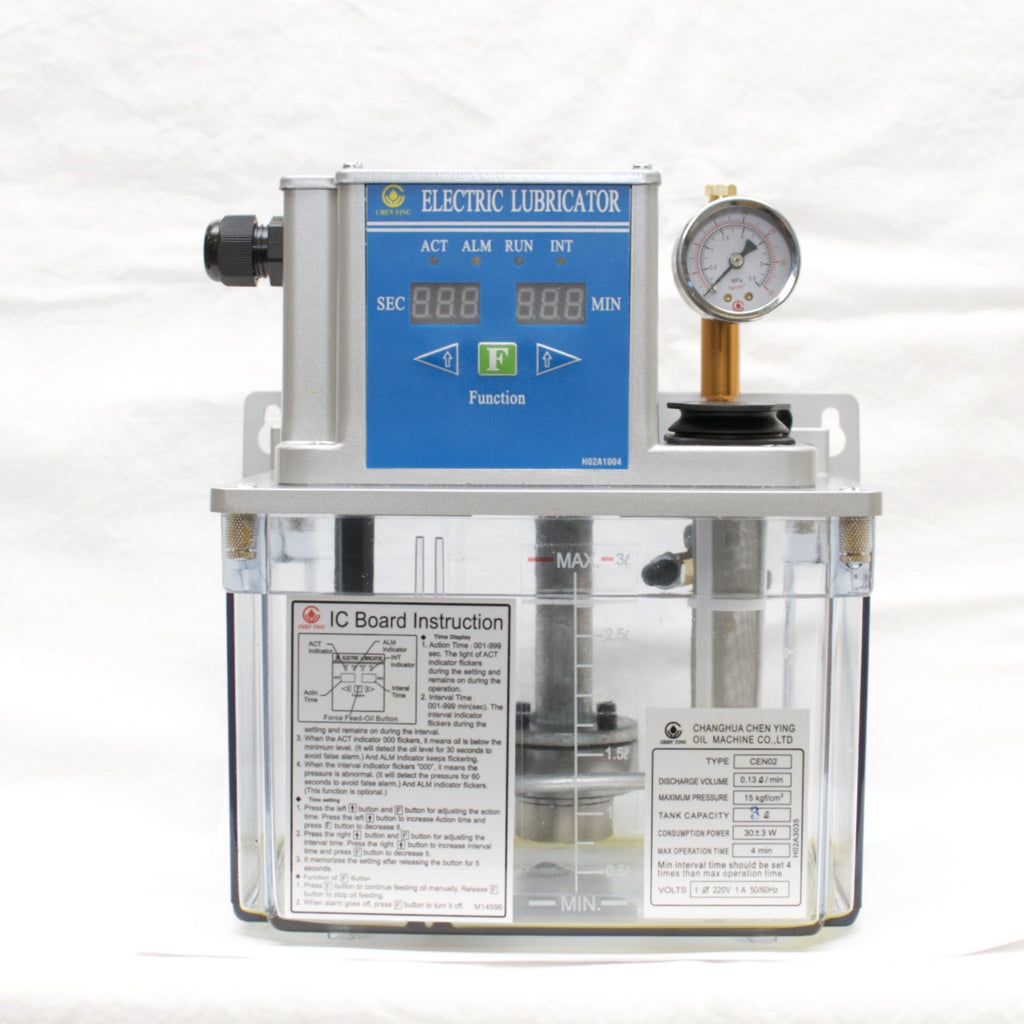 Cen02 Electric Lubricator 220vac Lubrication Unit