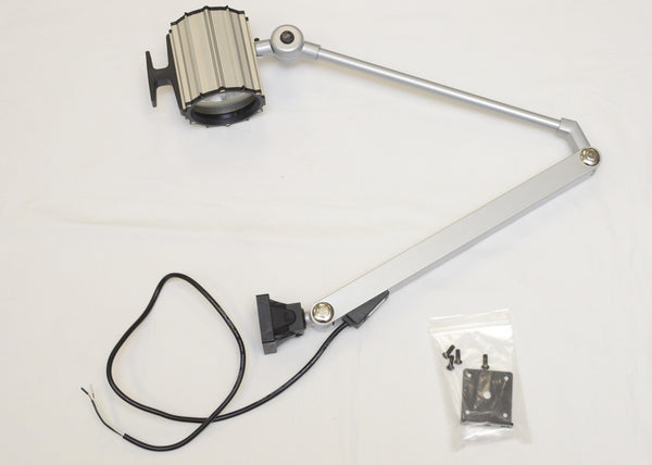 "HT-L81 IP65 Waterproof 55W Halogen Work Light w/ 32"" Arm 12V Machine worklight"