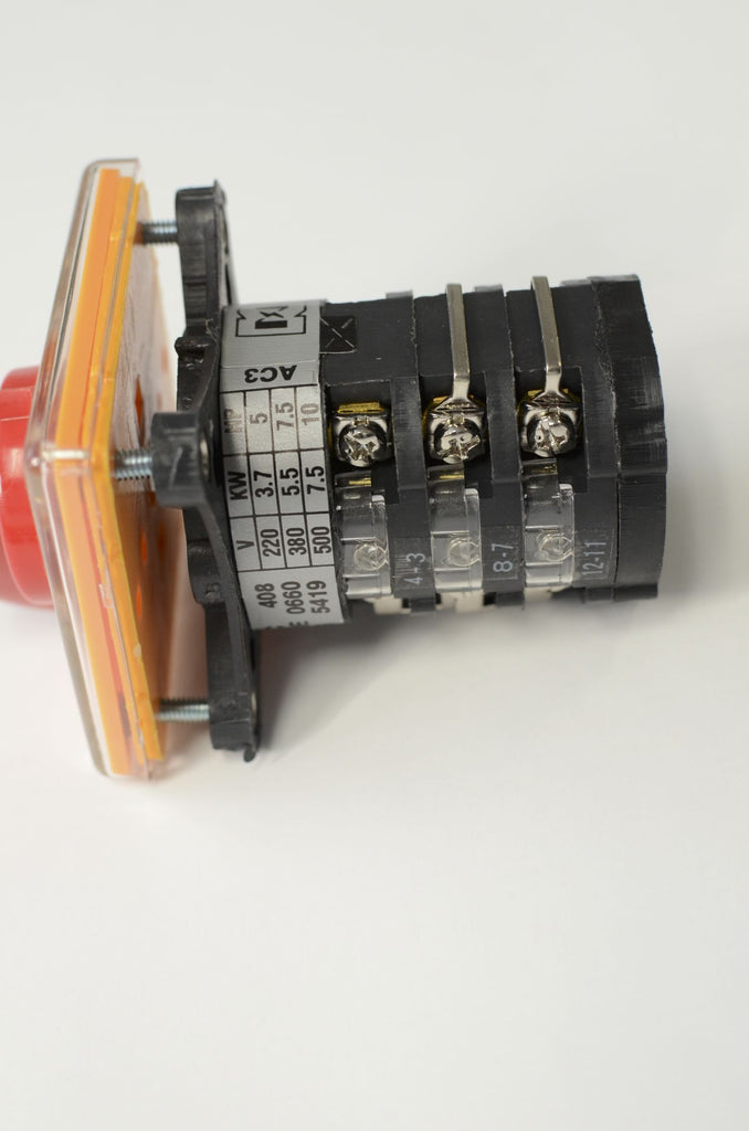 1PH motor Milling Machine Part Forward Reverse Switch for single phase