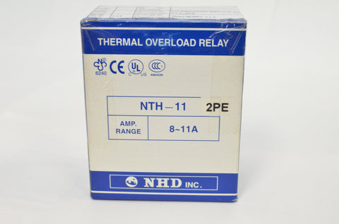 NHD thermal overload relay NTH-11 2PE, 8-11A