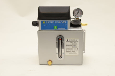 CESP Programmable Lubrication Unit with 2L Aluminum Tank 110V CESP-2L-110V