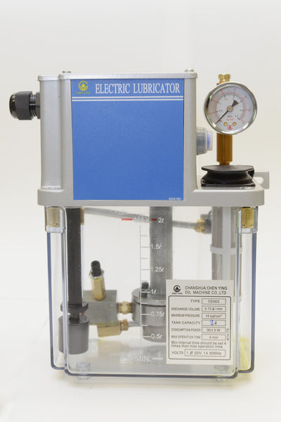 CEN03 Pressure Relief Electric Lubricator CEN03 2 Liter, 220VAC Lubrication Unit