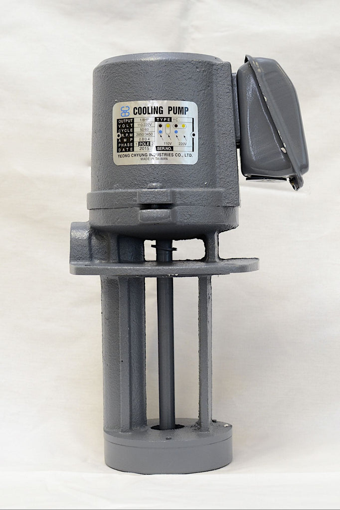 1 8 Hp Cast Iron Immersion Coolant Pump 110 220v 1ph