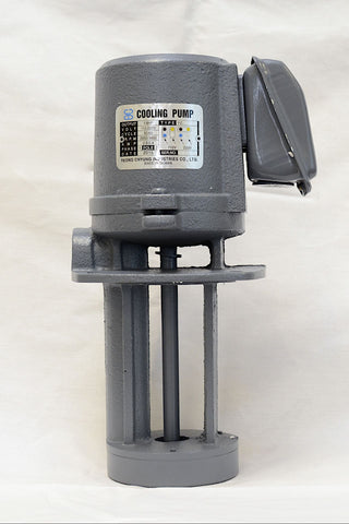 "1/8 HP Cast Iron Immersion Coolant Pump, 110/220V, 1PH, Shaft Length 5"" (130mm)"