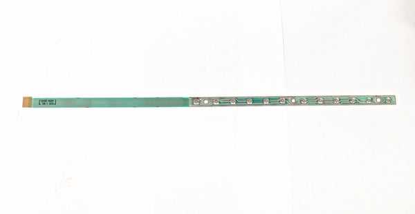 FANUC 12-key keyboard with ribbon cable A86L-0001-0301