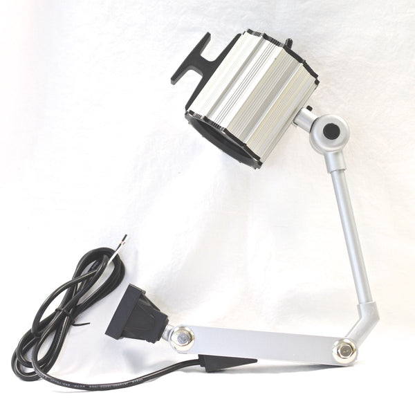 "HT-M81 IP65 Waterproof 55W Halogen Work Light w/ 17"" Arm 12V Machine worklight"