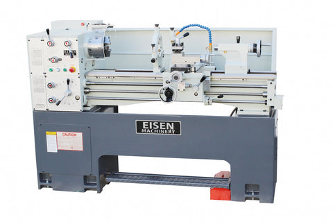 EISEN 1440GE Precision Lathe, 5HP, DRO, Made in Taiwan, One-Piece Cast Iron Base