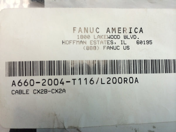FANUC A660-2004-T116/L200R0A  cable CX2B-CX2A NEW