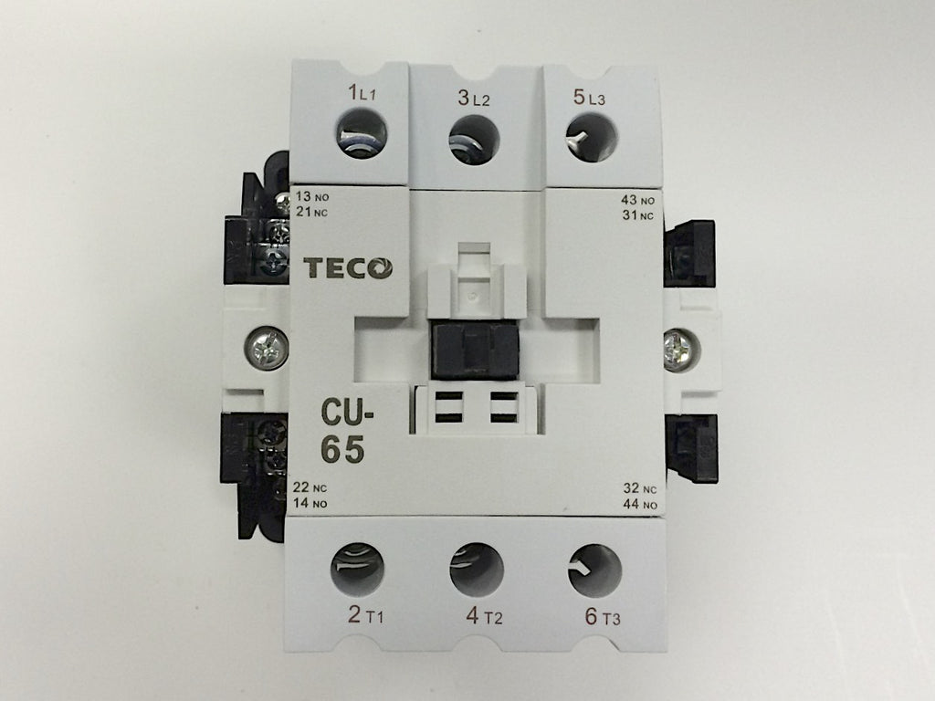 Teco Cu 65 Magnetic Contactor 85 Amp 3 Phase 110v Coil