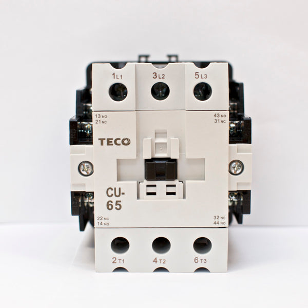 TECO CU-65 Magnetic Contactor 85 Amp, 3 Phase, 220V Coil 3A2a2b