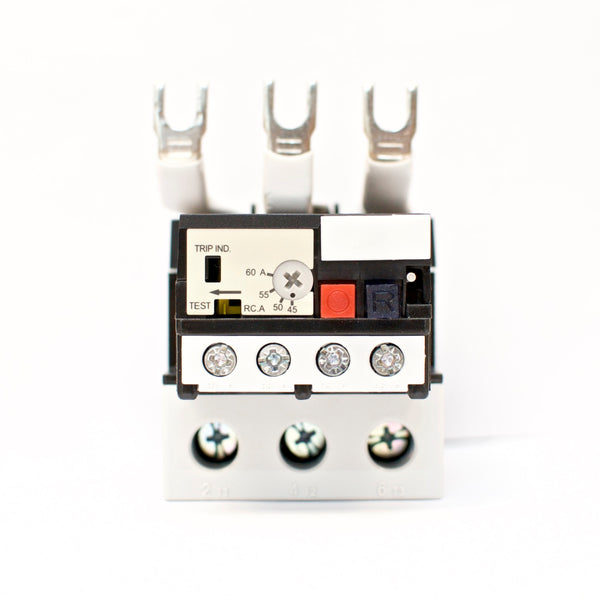 TECO RHU-80/60K3 thermal overload relay, Current range: 45 ~ 60A