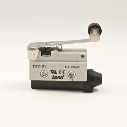 TEND TZ-7121 Horizontal Limit Switch, Hinge Roller Lever, 10A 250VAC