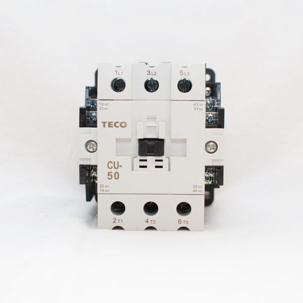 TECO CU-50 Magnetic Contactor, 24V Coil, 3A2a2b (replaces TAIAN CN-50)