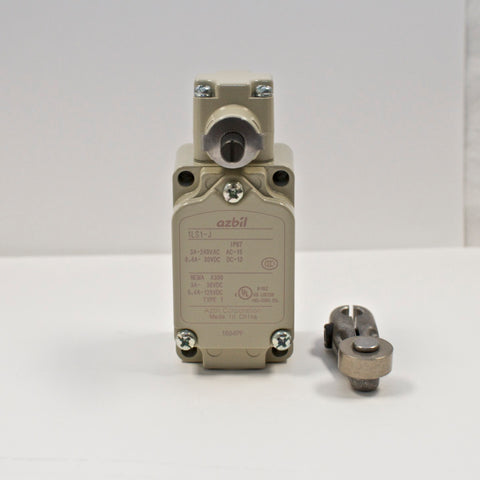 Azbil 1LS1-J limit switch, Roller Lever Type (Yamatake)
