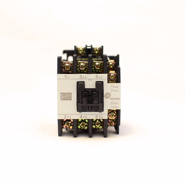 Shihlin Magnetic Contactor S-P21 3A1a1b Coil: 110V
