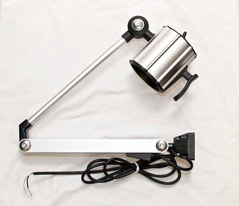 "TEND THL10-H7LL IP65 50W Halogen Work Light w/ 32"" Arm 24V Machine Worklight"