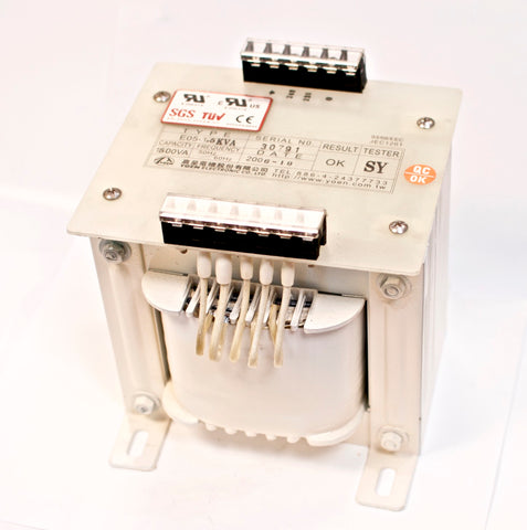 1500VA Single-phase AC Control Transformer PRI: 240/220V SEC: 24/12/110V