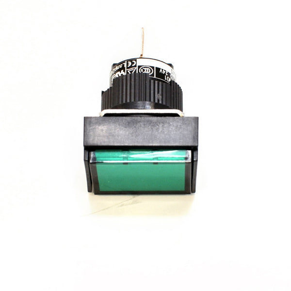 FUJI AH165-ZTG3 Green Pushbutton Command Switch 24VDC LED