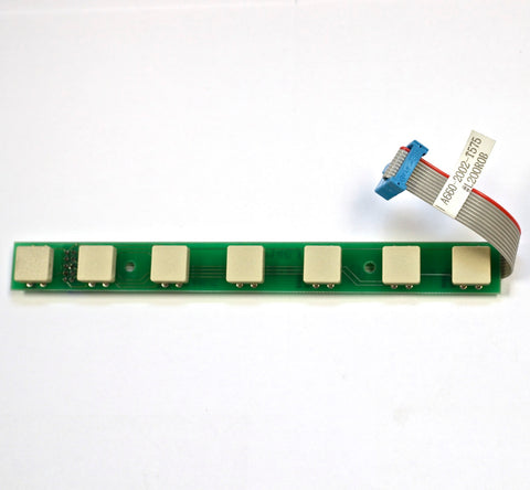 FANUC 7-key keyboard with ribbon cable A20B-1000-0840
