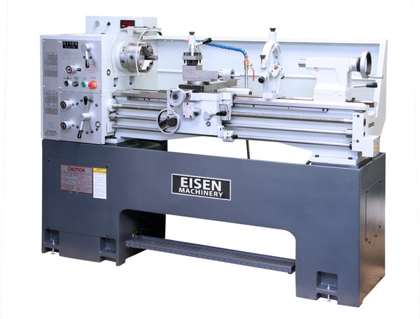 EISEN 1440EV Precision Lathe, 5HP, DRO installed, Heavy Cast-Iron Base